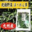 画像1: 乾燥野菜 国産 九州産 ほうれん草 95g (1)