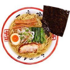 画像3: 函館ラーメン一文字(塩・2食入り) ご当地ラーメン 常温保存 半生麺 (3)