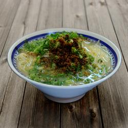 画像1: 鹿児島ラーメンくろいわ(2食入・豚骨スープ) ご当地ラーメン(常温保存) (1)